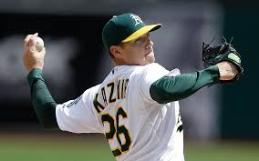 Scott Kazmir pitching!
