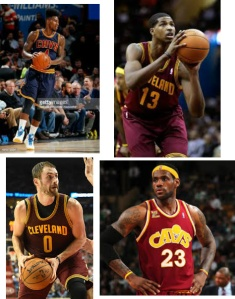 Will Lebron join these key playyers for another try for the NBA championship?