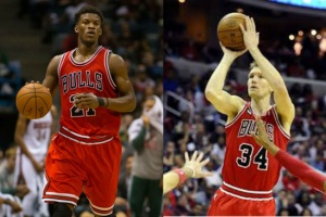 Both players stay with Bulls to bring championship back to Chicago. Last championship was in 1998
