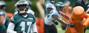 Photo Via Philly.com (Left Nelson Agholor and on right Eric Rowe)