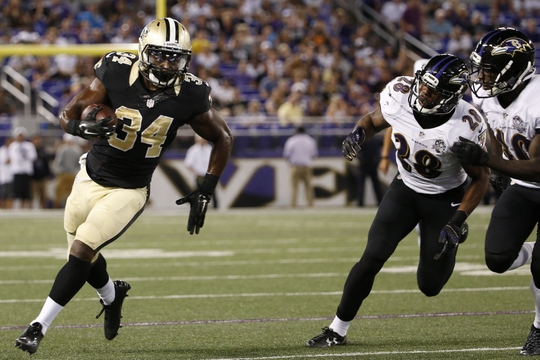 NFL: Preseason-New Orleans Saints at Baltimore Ravens