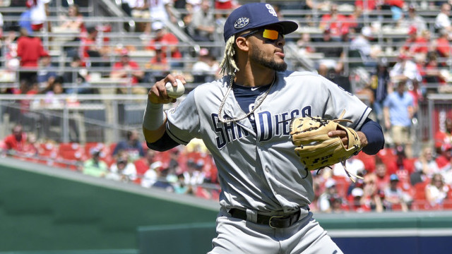 MLB: APR 28 Padres at Nationals